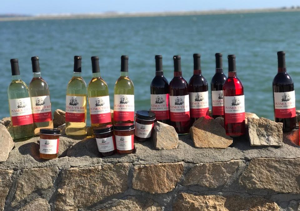 FIND ALL KINDS OF DELICIOUS WINES AT PLYMOUTH BAY WINERY!